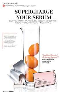Timewise Vitamin C Activating Squares