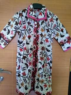 (Preloved) Dress Batik Pekalongan (Kode:067)