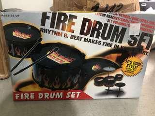 🚚 Brand New! Fire Drumset for Kids
