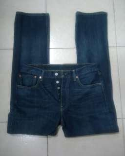 Levi's 501 Slim Straight Made in Mexico