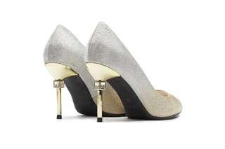 d57e29a2c65 Pazzion High Heels - Gold  Silver