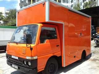 NISSAN FOOD TRUCK WITH NEW TRUCK BODY