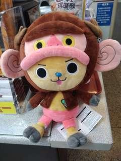 正版喬巴玩偶娃娃-可議價