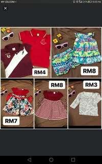 Mixed clothing 1-2yrs