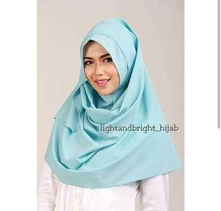 New Hijab Instan bagus merk Light&Bright