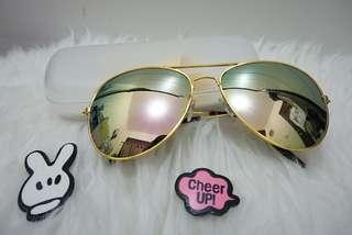 Sunglasses aviator free tempat&lap kacamata