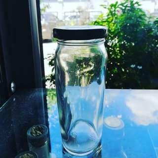 Oval Glass Bottle
