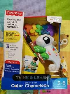 Fisher price smart scan color chaneleon