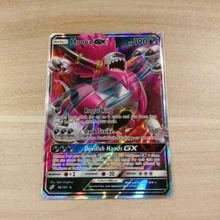 🚚 Pokemon TCG Hoopa GX Card
