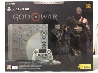🚚 PS4 pro 限量《God Of War》 1TB
