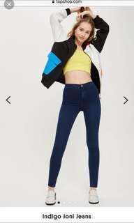 Topshop Highwaist Joni Jeans 24-25 waist