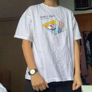 VINTAGE Chill Out Pool Tshirt