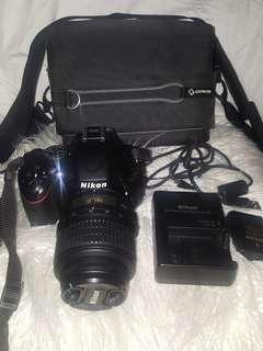 Nikon D5100 DSLR - barely used