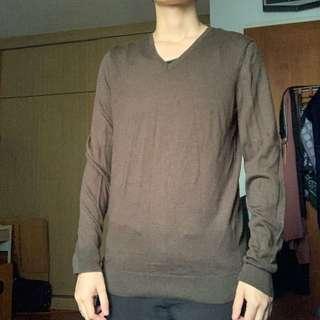 UNIQLO Dark Army Green Sweater
