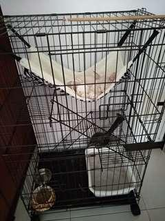 Sale! New! 3 storey cat cage
