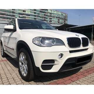 Actual Year Made 2010 BMW X5 3.0 Local CBU Spec xDrive35i Twin Power Turbo SUV E70 New Facelift 7 Seater Sunroof Reverse Camera