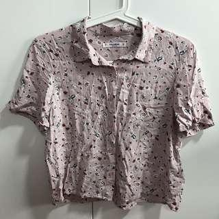 🚚 BN F21 floral top