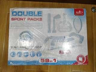 Double Sports Packs for Nintendo Wii
