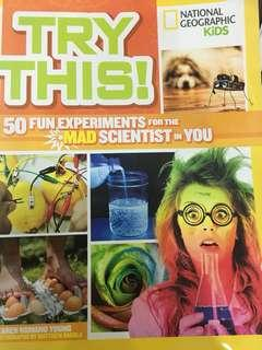 National Geographic 50 fun science experiments