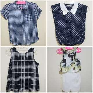 Set A 4 pcs size S