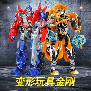 Transformers Toy Robot Car