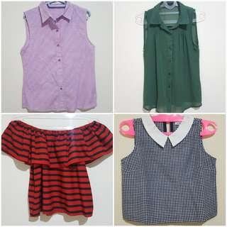 Set B 4 pcs size S