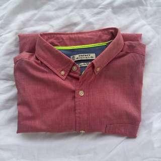 Esprit Short Sleeve Button Up Top
