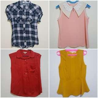 Set A 4 pcs size M fit to L