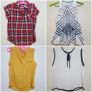 Set B 4 pcs size M fit to L
