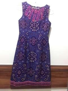 Dress batik essy gametri