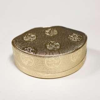 龍紋金緞面 項鍊首飾 禮物盒  錦盒