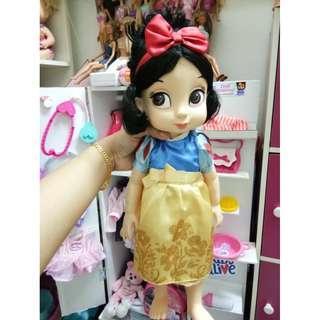 Disney snow white animator doll