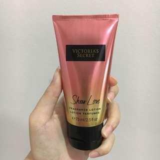 Victoria Secret Fragrance Lotion Perfume Sheer Love