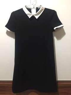 Dress zara hitam