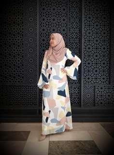 #GayaRaya Raya Sales! Geo Maxi Dress
