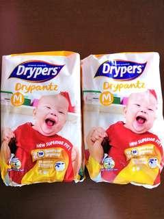 🚚 Drypers Drypantz M size