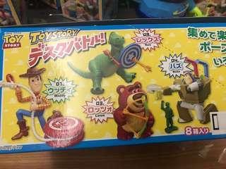 🚚 玩具總動員 胡迪 熊抱哥 抱抱龍 翠絲 火腿豬 巴斯 絕版盒玩公仔 整套販售