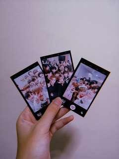 wanna one matte photocard
