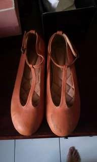 Cute Brown Flat Shoes