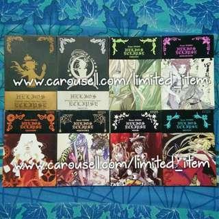 (FREE POSTAGE!) Buku Komik Comic Novel Grafik Manga Gempak Starz - Helios Eclipse karya Kaoru [COMPLETE SET]
