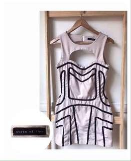 Size 12: 'state of love' dress