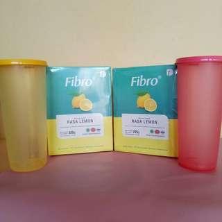 FIBRO minuman DIET PELURUH LEMAK GRATIS TUMBLER MEDINA
