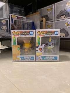 Funko Pop Digimon (Agumon & Gabumon)