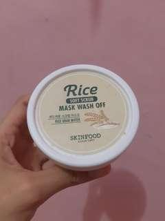Skinfood Rice mask