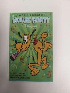 disney tickets 迪士尼門票 入場票 成人 adult 1 ticket