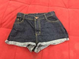 Celana Hotpants Jeans
