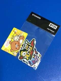 BTS BT21 Hero Stickers (STAGE Collaboration)