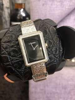 Chanel Boyfriend Diamond tweed
