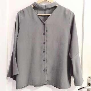 Choker Shirt / Kemeja