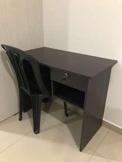 STUDY TABLE & CHAIR